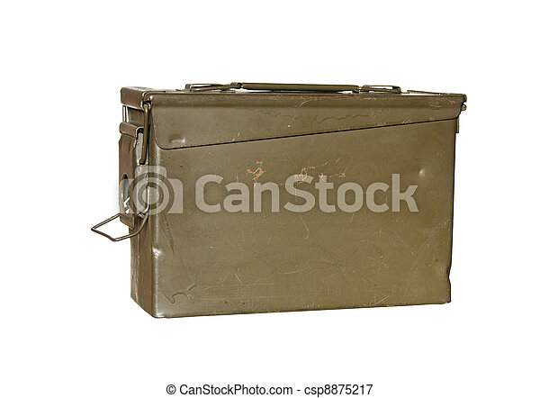 image de munitions bo te vendange m tal munitions r cipient csp8875217 recherchez. Black Bedroom Furniture Sets. Home Design Ideas