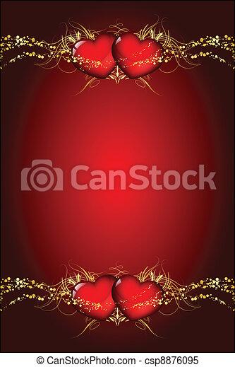 Velentines day wish card - csp8876095