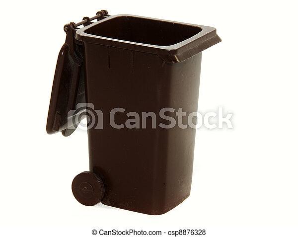 Plaatjes van bruine vuil container restafval csp8876328 for Container en francais