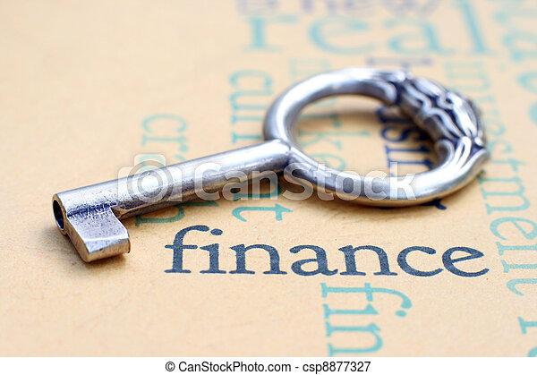 Finance concept - csp8877327