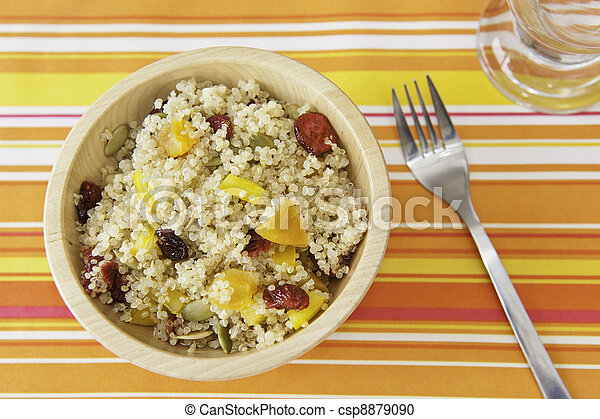 Fruity Quinoa Salad - csp8879090