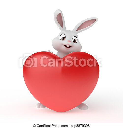 Easter bunny - csp8879398