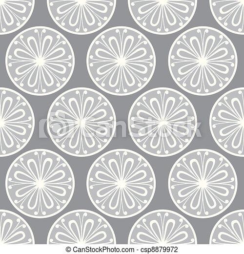 Seamless petal pattern - csp8879972