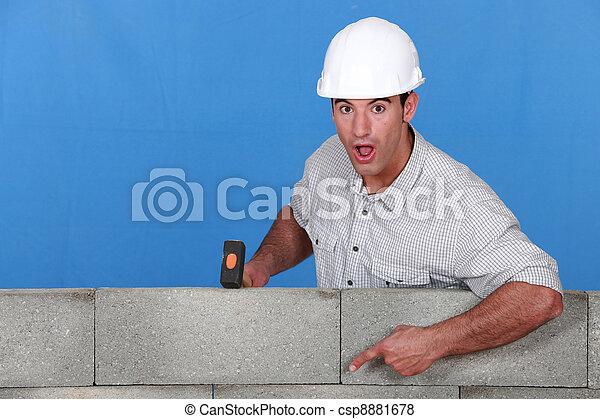 That's a tough wall - csp8881678