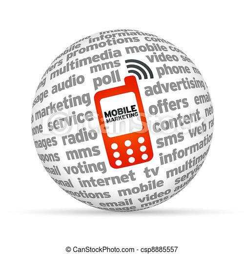 Mobile Marketing - csp8885557