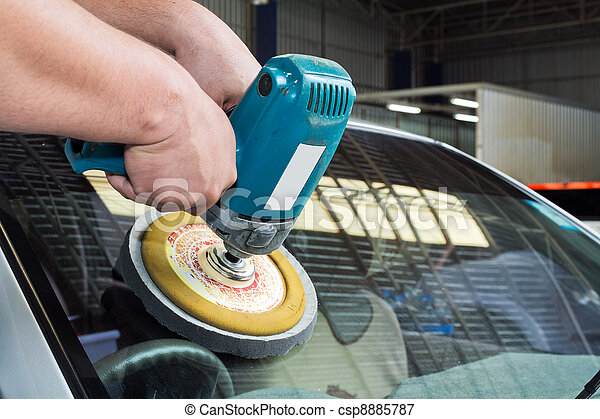 image de voiture verre polissage puissance tampon machine csp8885787 recherchez des. Black Bedroom Furniture Sets. Home Design Ideas