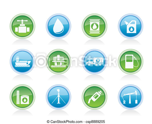 oil and petrol industry objects - csp8889205