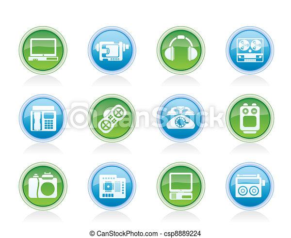 electronics, media, technical  - csp8889224