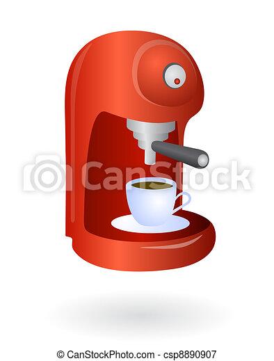 Espresso coffee machine - csp8890907