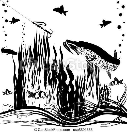 River predator - csp8891883