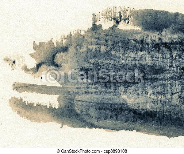 Ink texture - csp8893108