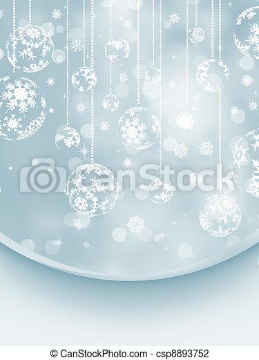 Christmas Wish Card. EPS 8 - csp8893752