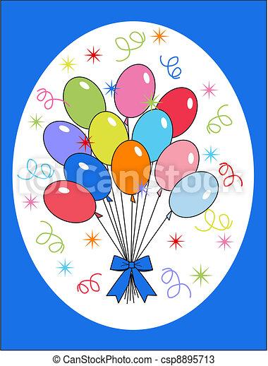 celebration or invitation - csp8895713