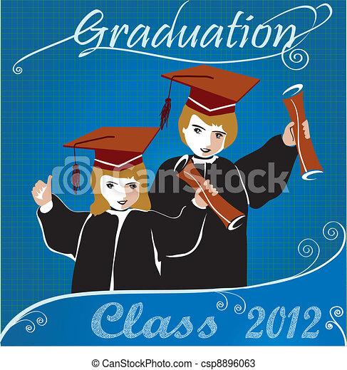 Graduation class2012 invitation - csp8896063
