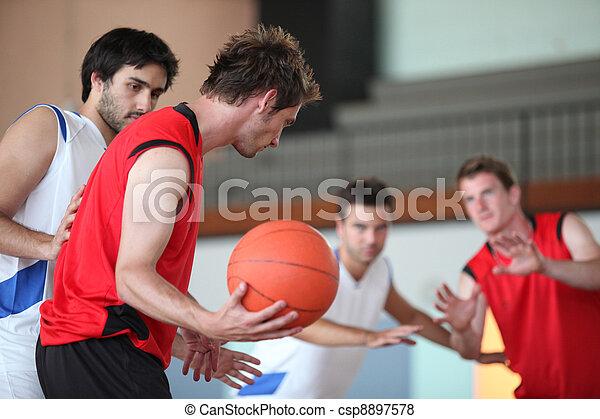 Basketball game - csp8897578