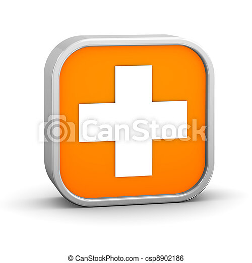 First aid sign - csp8902186
