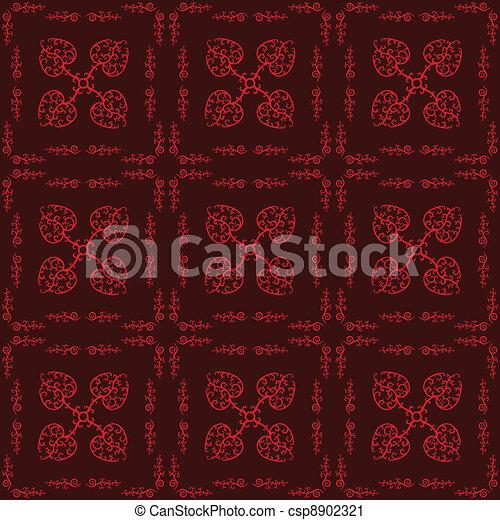 Hearts Seamless Pattern - csp8902321