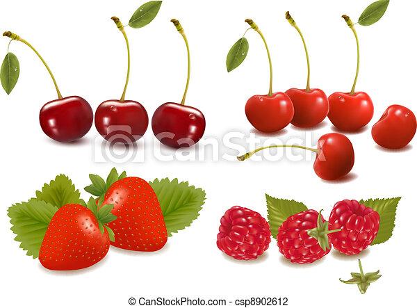 set of cherries - csp8902612