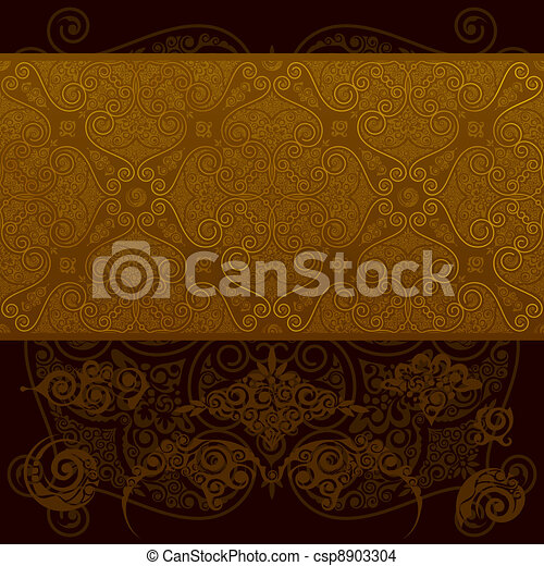 Vintage wallpaper  - csp8903304