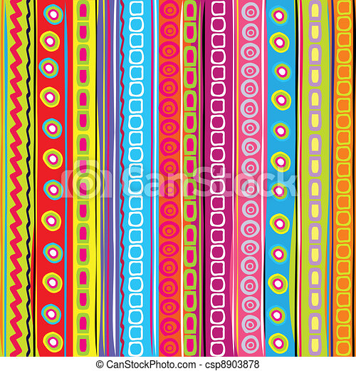 Colorful strip abstract background - csp8903878
