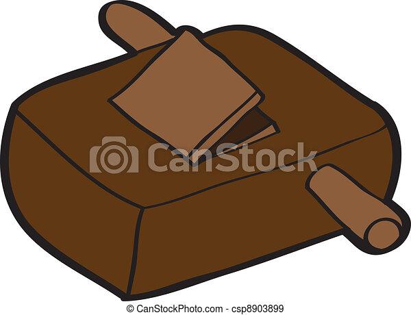 wooden bench plane - csp8903899