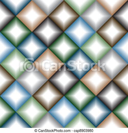 Geometrical seamless pattern - csp8903980