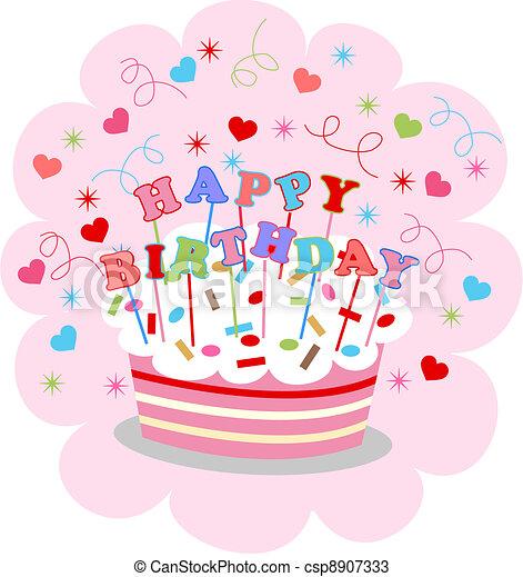 happy birthday - csp8907333