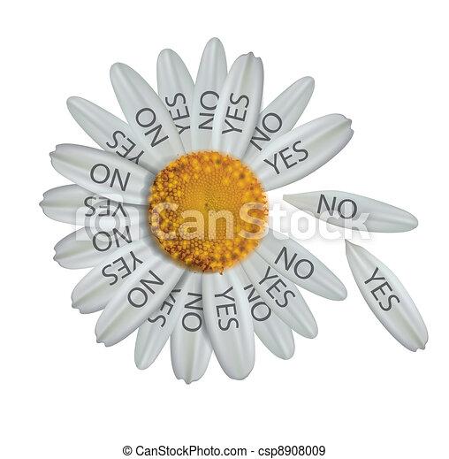 Divine decision daisy - csp8908009