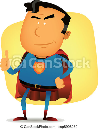 Comic Superman Character - csp8908260