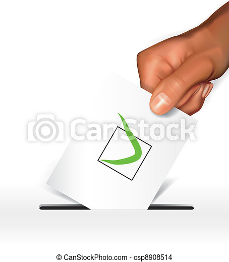 Voting concept - csp8908514