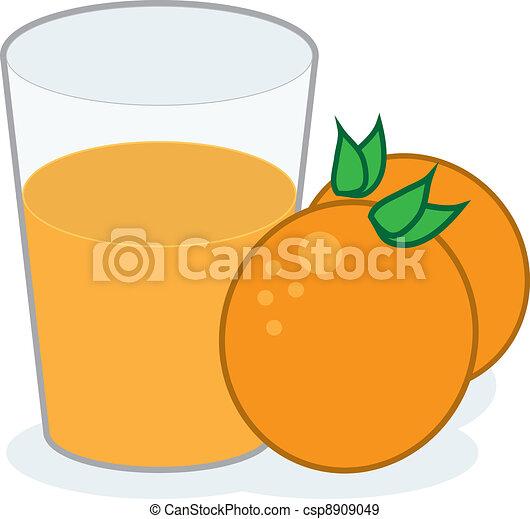 Orange Juice  - csp8909049