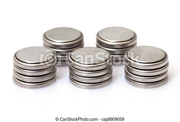 coin Lithium batteries - csp8909059