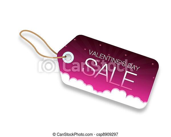 Valentines Day Sale - csp8909297
