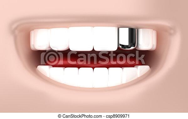 The smile - csp8909971