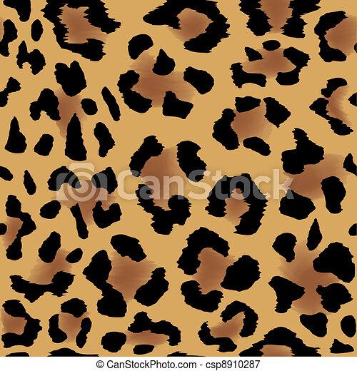 Leopard skin pattern - csp8910287