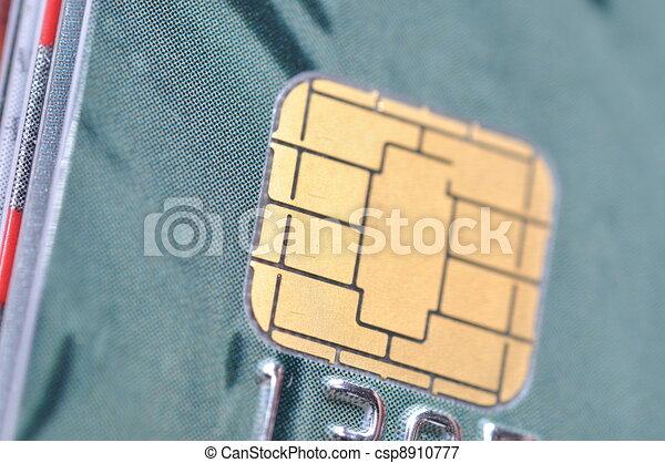Macro business chip card  - csp8910777