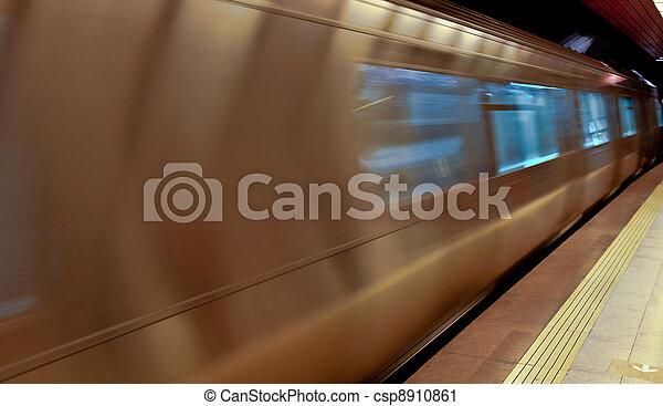 subway station - csp8910861