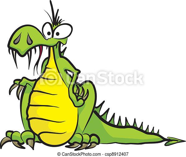strange dragon - csp8912407
