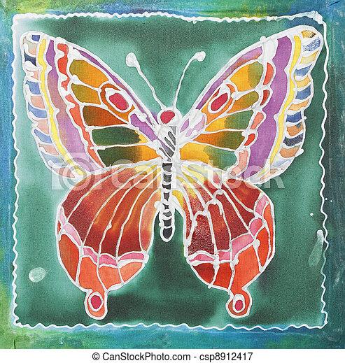 Batik design - csp8912417