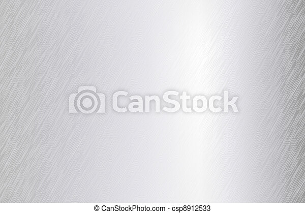 Vector brushed metal sheet - csp8912533