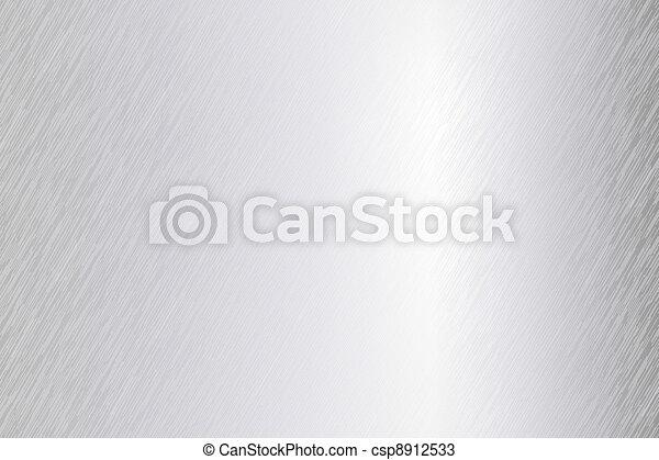 Vector brushed metal sheet - csp8912533