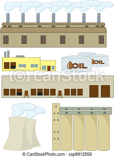 Various Industrial Structures - csp8912558