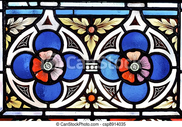 stained glass - csp8914035