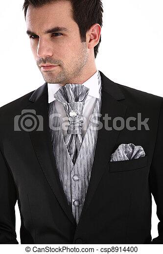 Handsome man in tuxedo - csp8914400