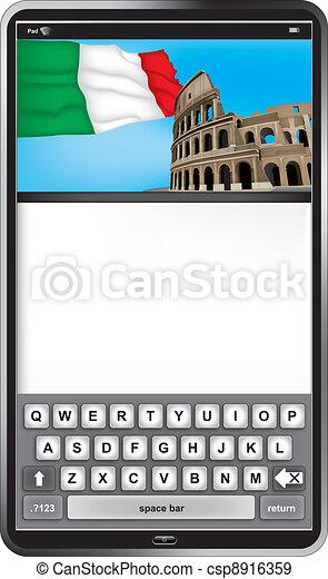 pad Rome - csp8916359