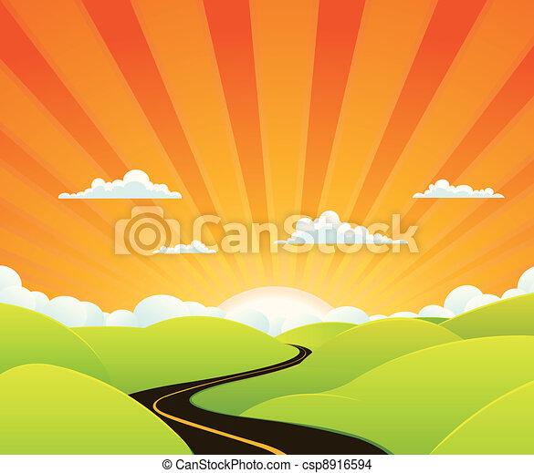 Heaven Road - csp8916594