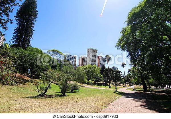 Plaza Barrancas de Belgrano in Buenos Aires - csp8917933