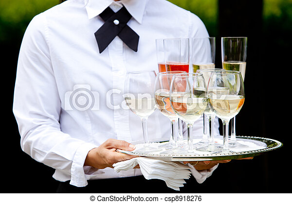 Wedding service and catering - csp8918276