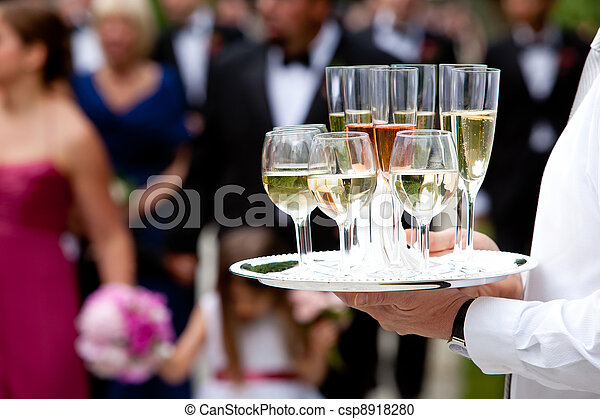 Wedding service and catering - csp8918280