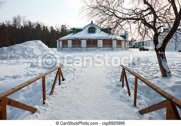 Manor of the great Russian poet of the 18th century - Lermontov - csp8920995
